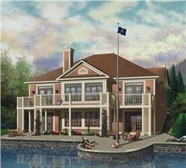 House Plan #126-1544
