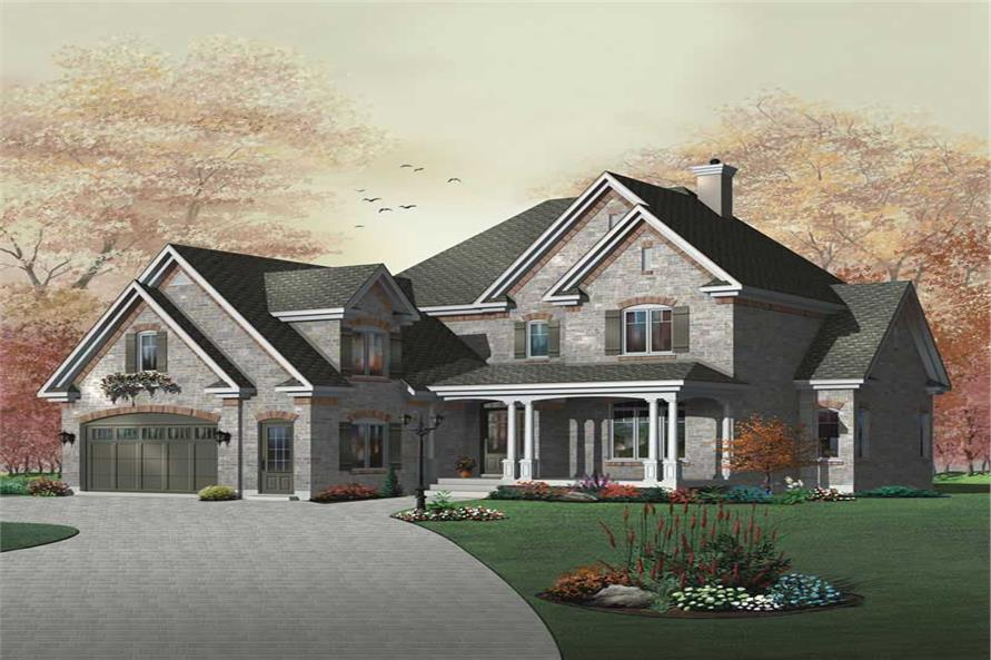 Main image for house plan # 11430