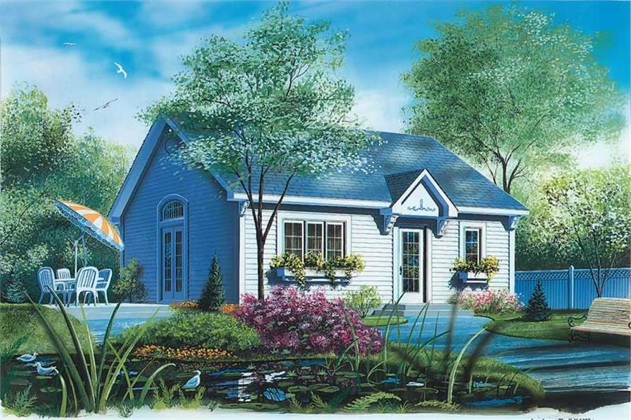 Main image for house plan # 12303
