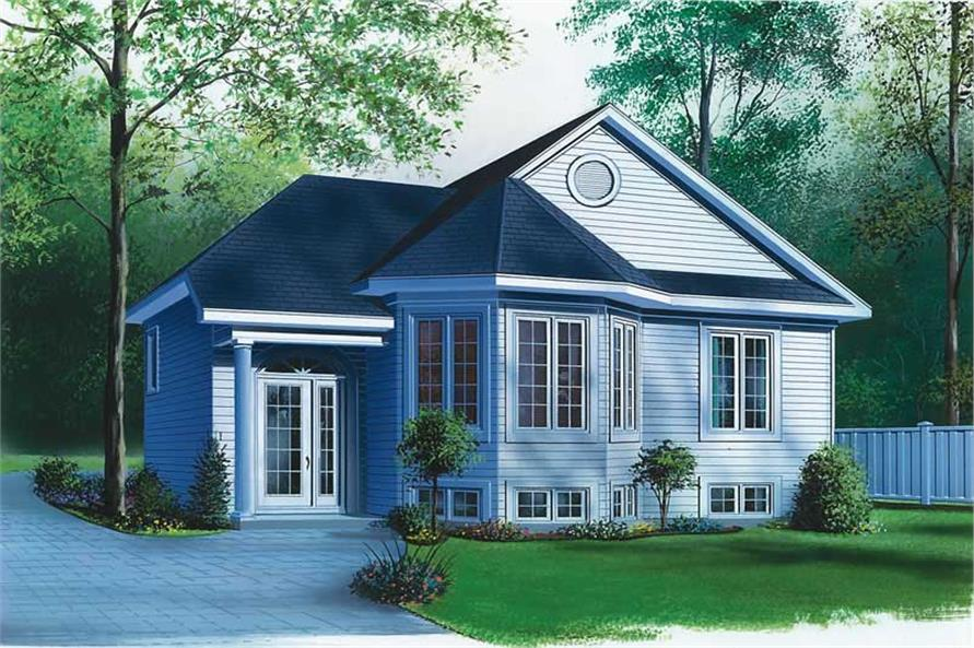 Main image for house plan # 12588
