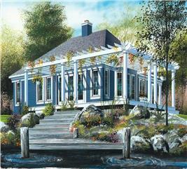 House Plan #126-1563