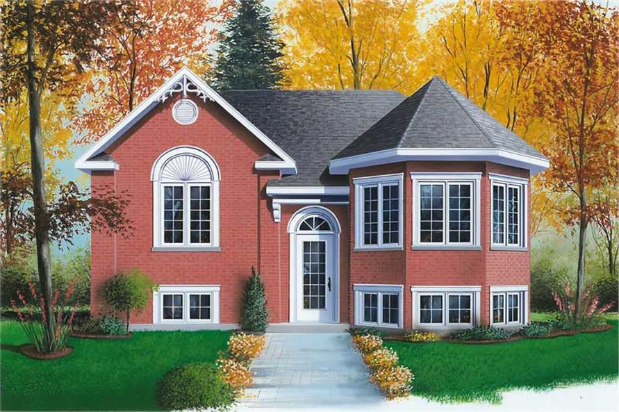 Main image for house plan # 12590