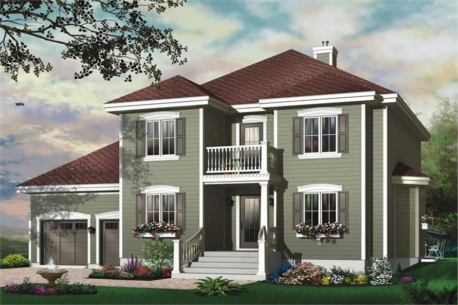 Main image for house plan # 11423