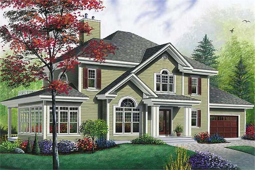 Main image for house plan # 11428