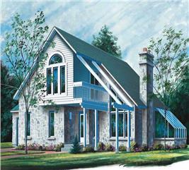 House Plan #126-1589