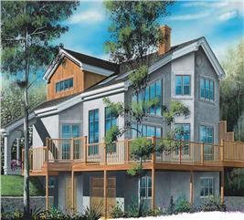 House Plan #126-1590