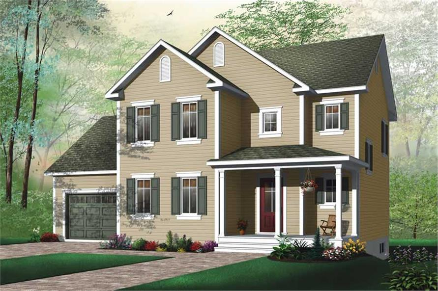 Main image for house plan # 11444