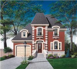 House Plan #126-1597