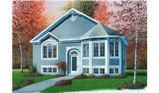 Main image for house plan # 12589