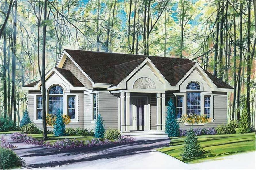 Main image for house plan # 12189