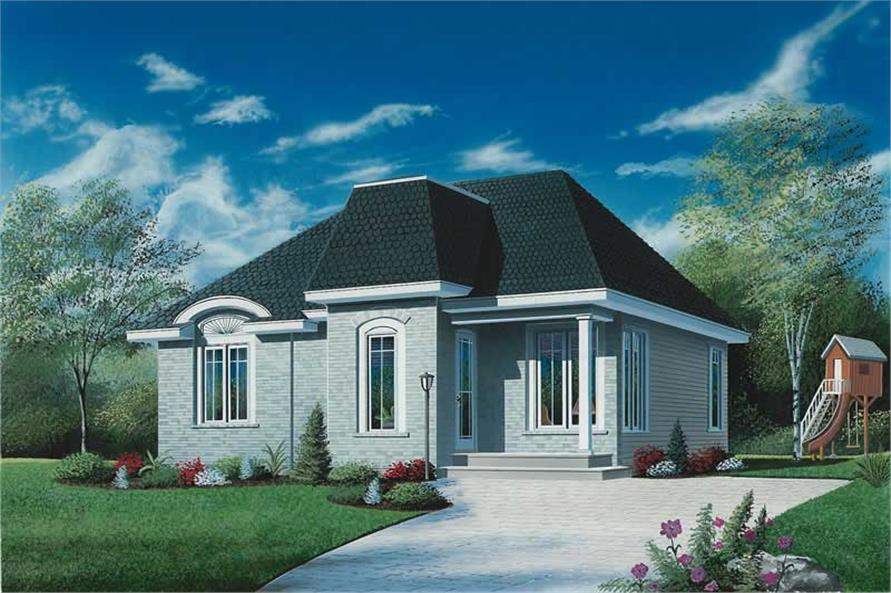 Main image for house plan # 12022