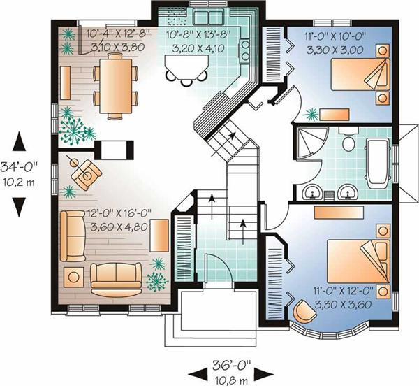 European Home Plans - Sater Design Collection - European Plans