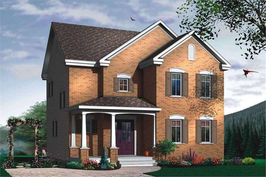 Main image for house plan # 12844