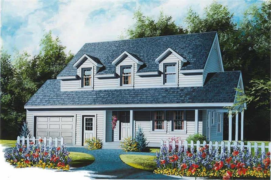 Main image for house plan # 12851