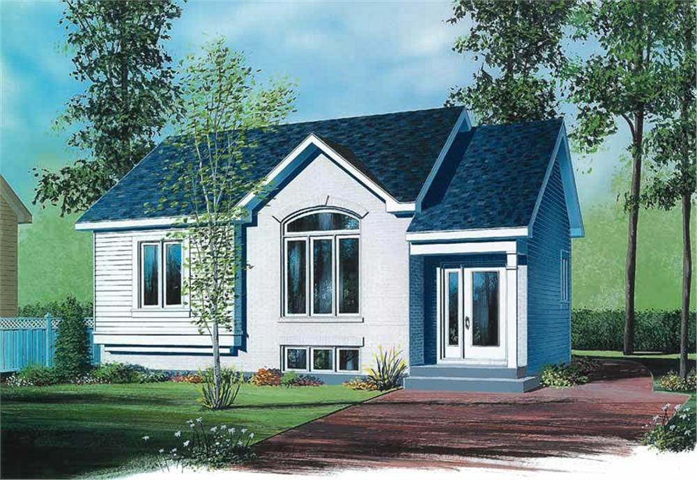 Main image for house plan # 12469