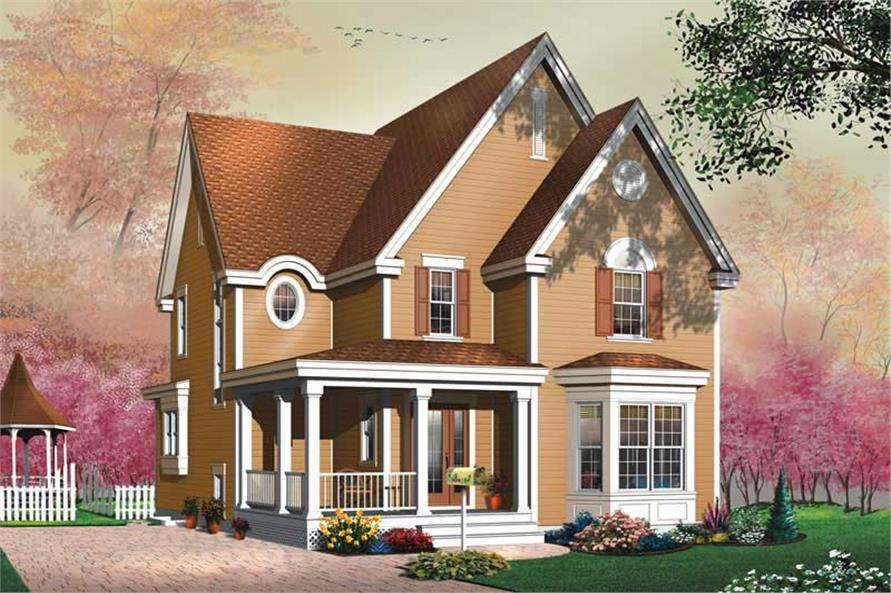 Main image for house plan # 11395