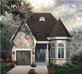 House Plan #126-1642