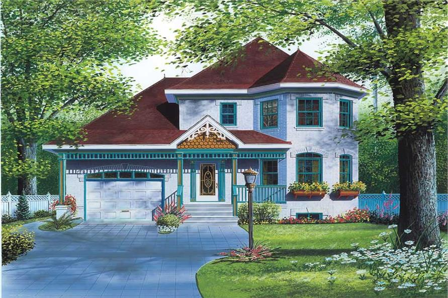 Main image for house plan # 12874