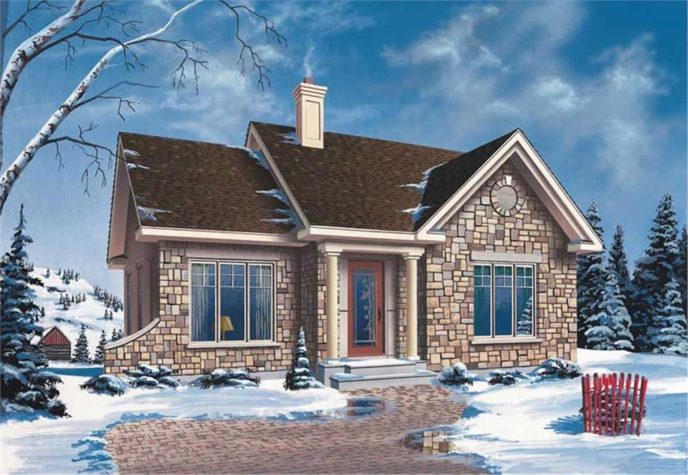 Main image for house plan # 12190