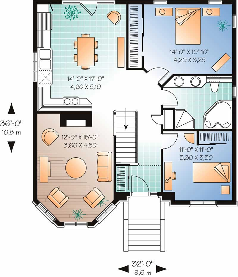 Victorian Bungalow Contemporary House Plans Home