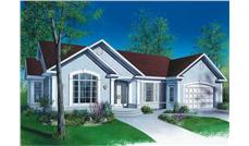 Main image for house plan # 12385