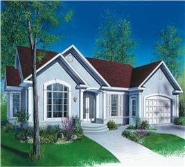 House Plan #126-1680