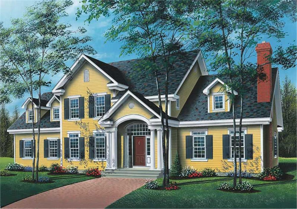 Main image for house plan # 12823