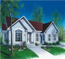 House Plan #126-1698