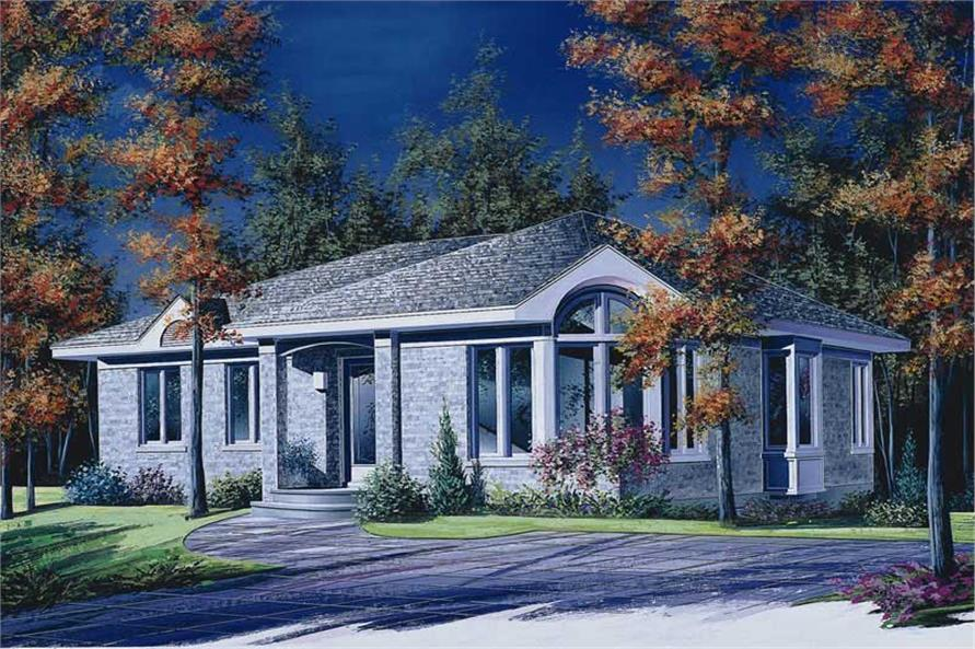 Main image for house plan # 12082