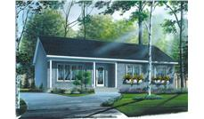 Main image for house plan # 12299
