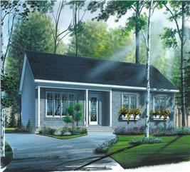 House Plan #126-1705