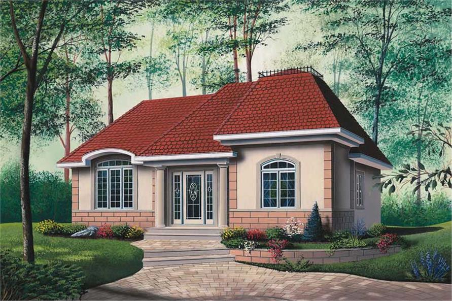 Main image for house plan # 12086