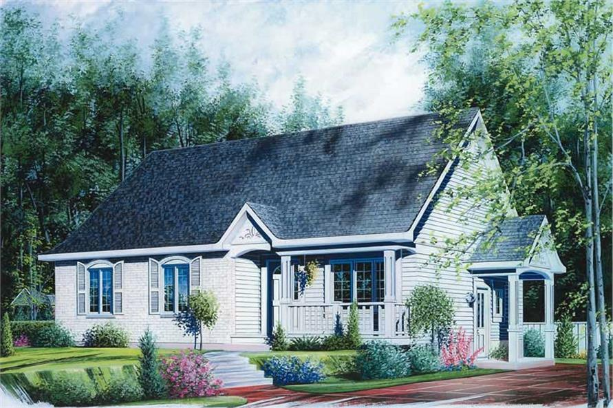 Main image for house plan # 12077
