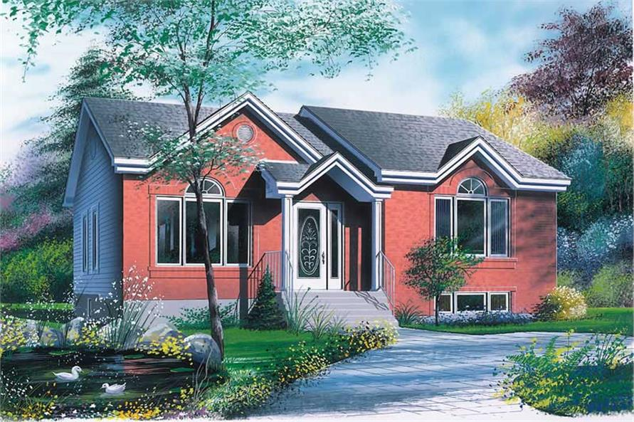 Main image for house plan # 11884