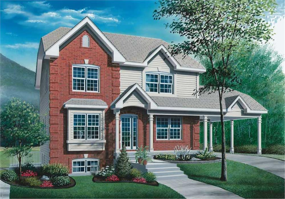 Main image for house plan # 13045