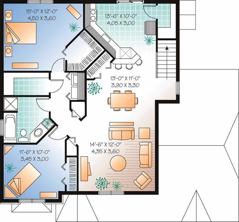 Multi-Level, Multi-Unit, Contemporary House Plans - Home ...