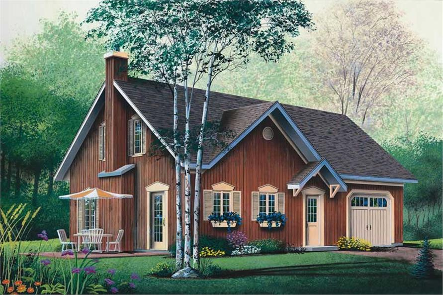 Main image for house plan # 13035
