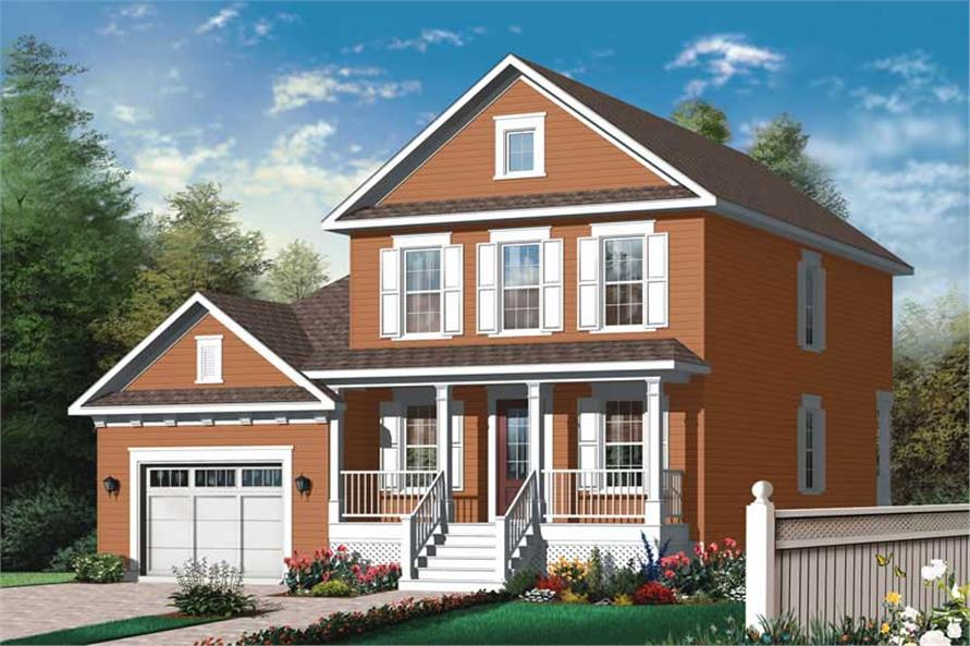 Main image for house plan # 20018