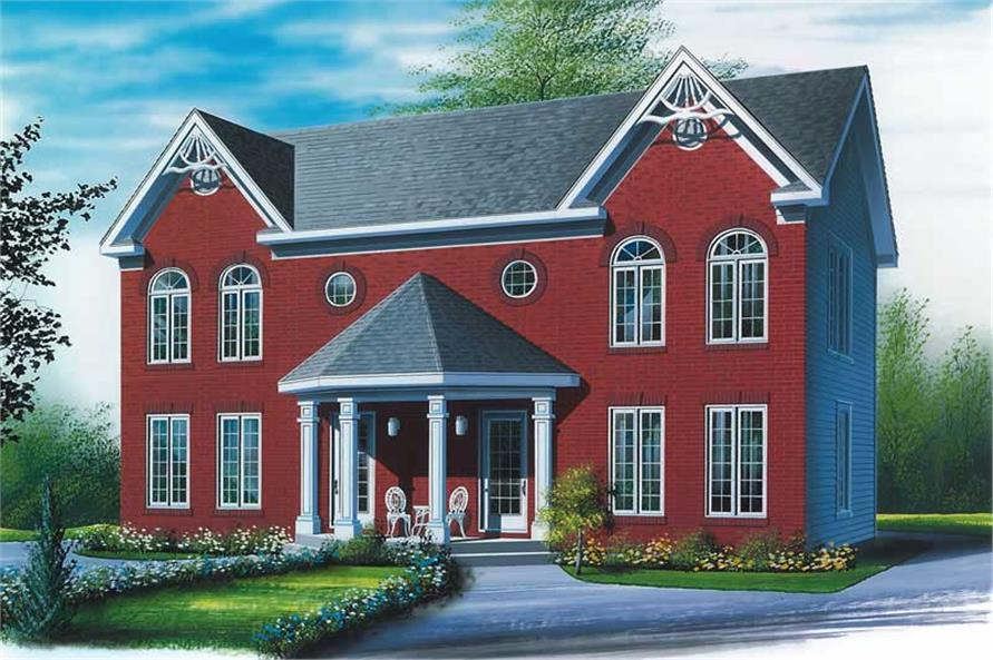 Main image for house plan # 13038