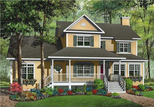 Main image for house plan # 13180