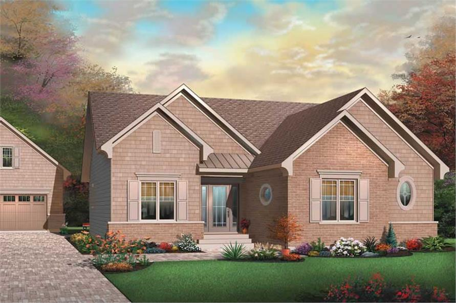 Main image for house plan # 13248