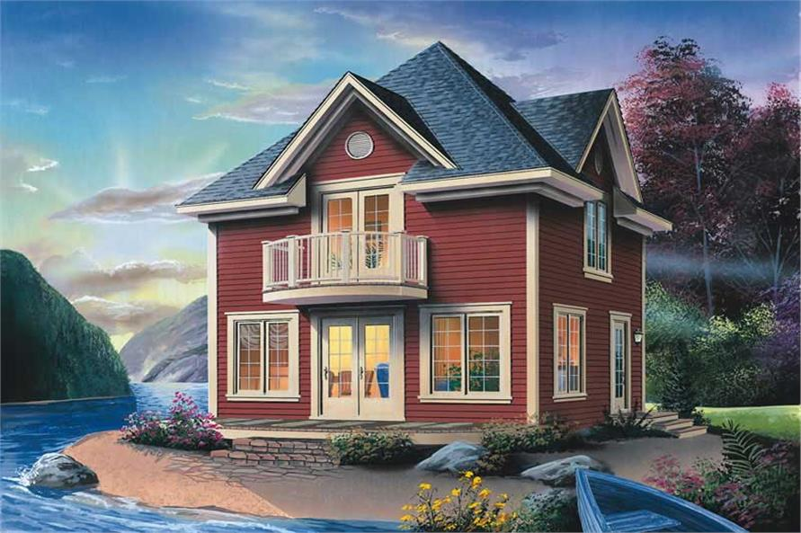 Main image for house plan # 13186