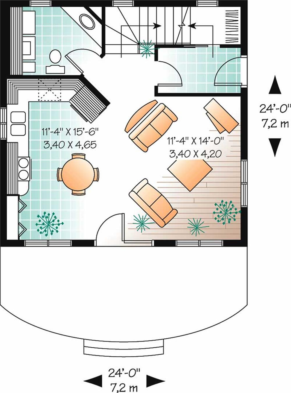 large images for house plan 126 1780