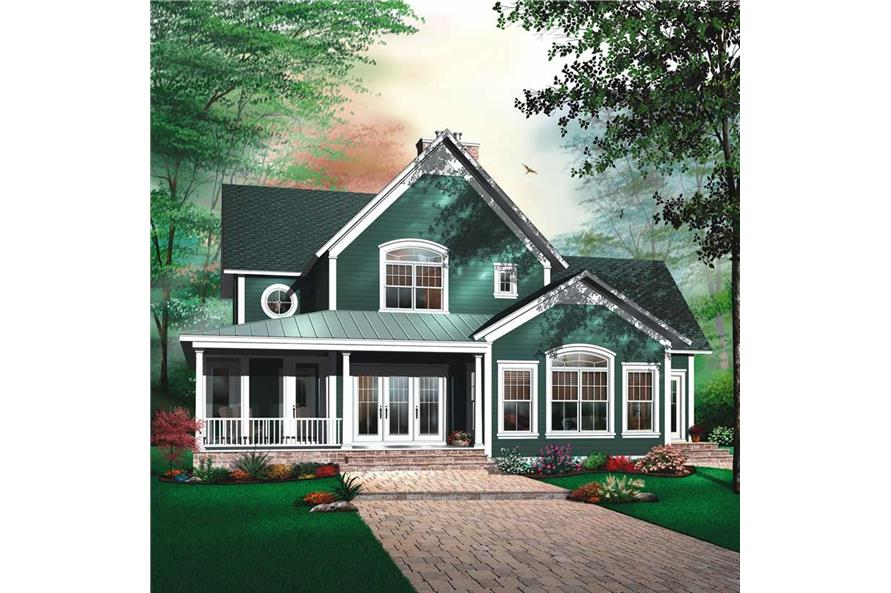 Main image for house plan # 13196