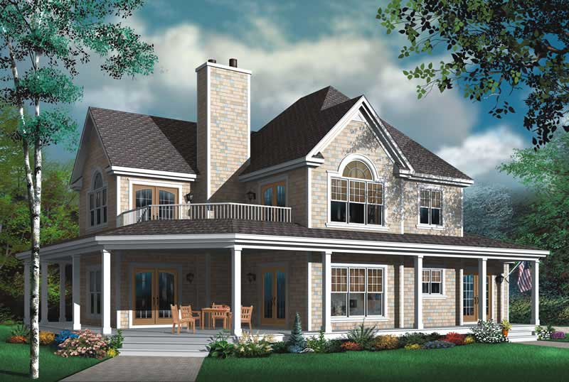 Vacation Homes, Contemporary, Country House Plans