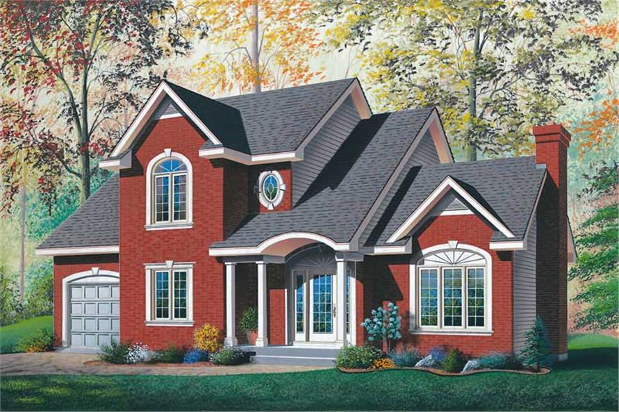 Main image for house plan # 12877