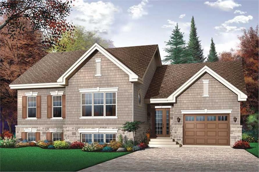 Main image for house plan # 13263