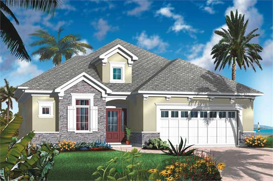 Main image for house plan # 19980