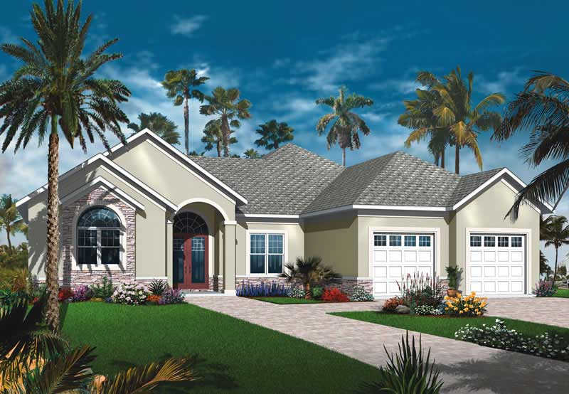 Mediterranean Bungalow House Plans Home Design Dd 3256