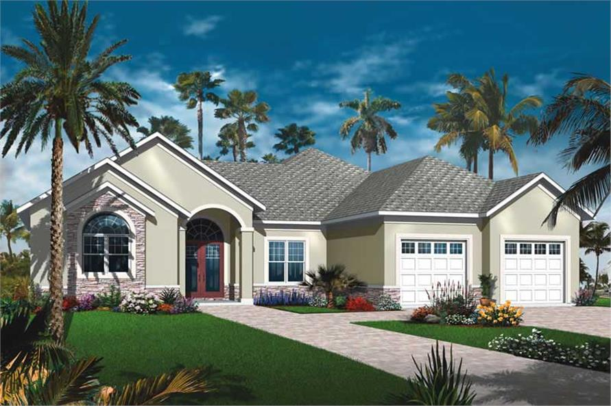 Main image for house plan # 19992
